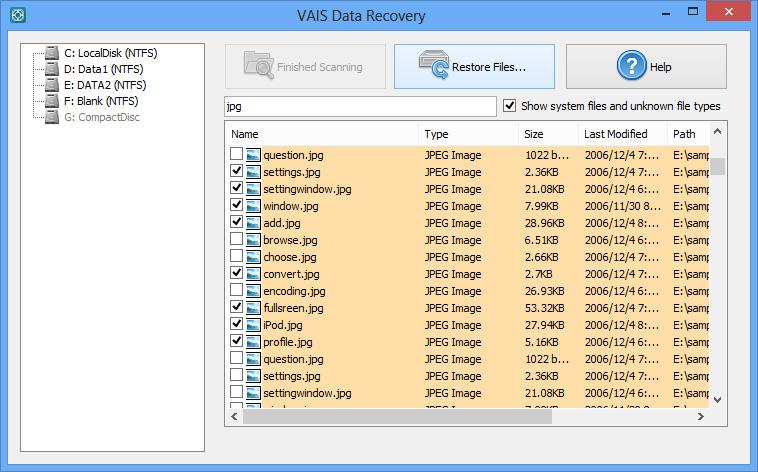 VAIS Data Recovery