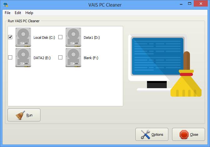VAIS PC Cleaner screenshot